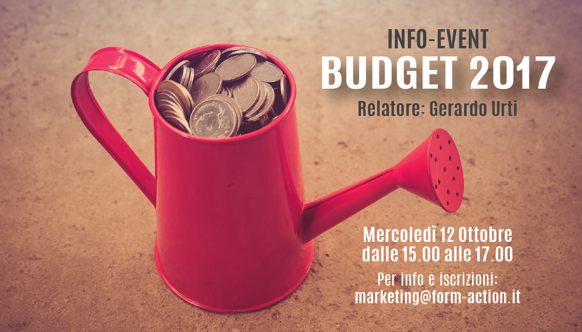 Info Event Budget