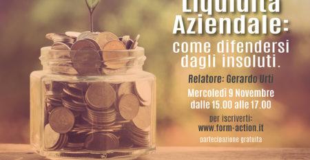 Info Event Liquidità Aziendale